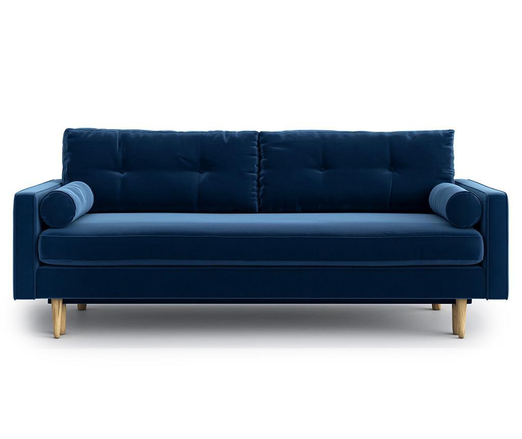 Kauč trosjed na razvlačenje Esme Riviera Blue