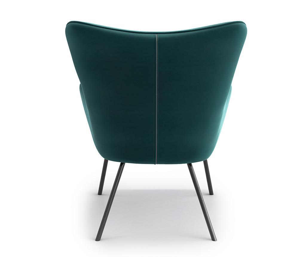 Fotelja Tilda Riviera Metal Turquoise
