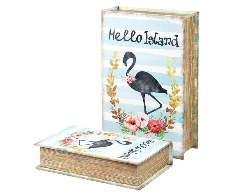 Set 2 kutije tipa knjige Hello Island