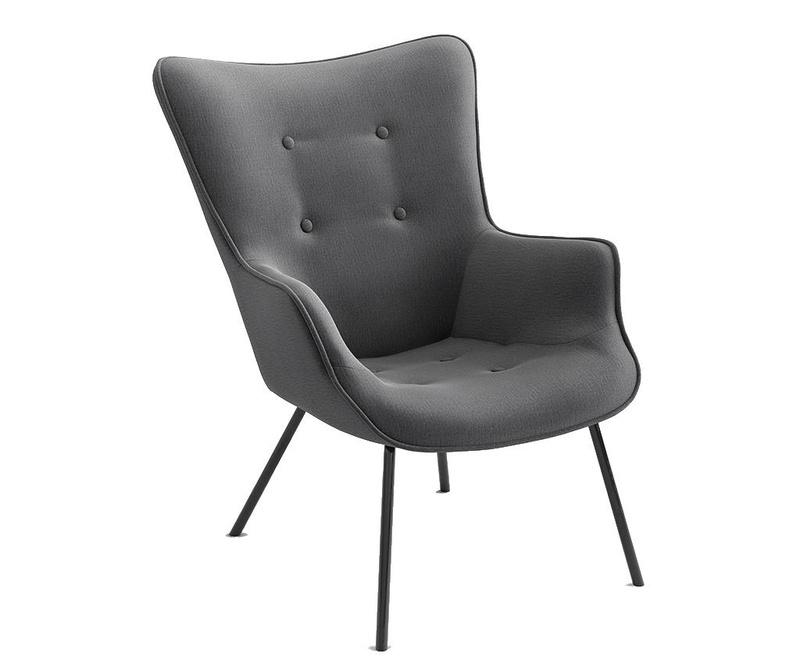 Fotelj Tilda Monolith Metal Grey