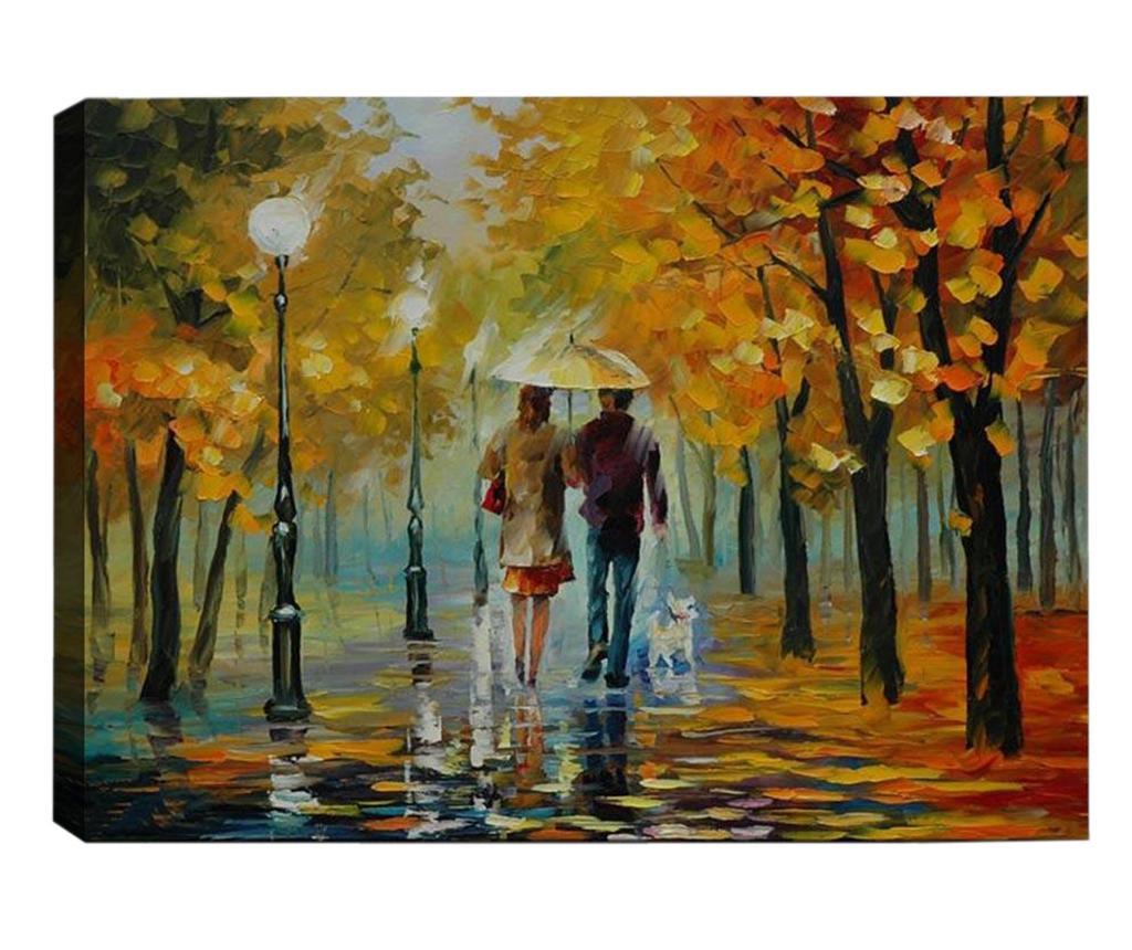 Slika Walking in the Rain 40x60  cm