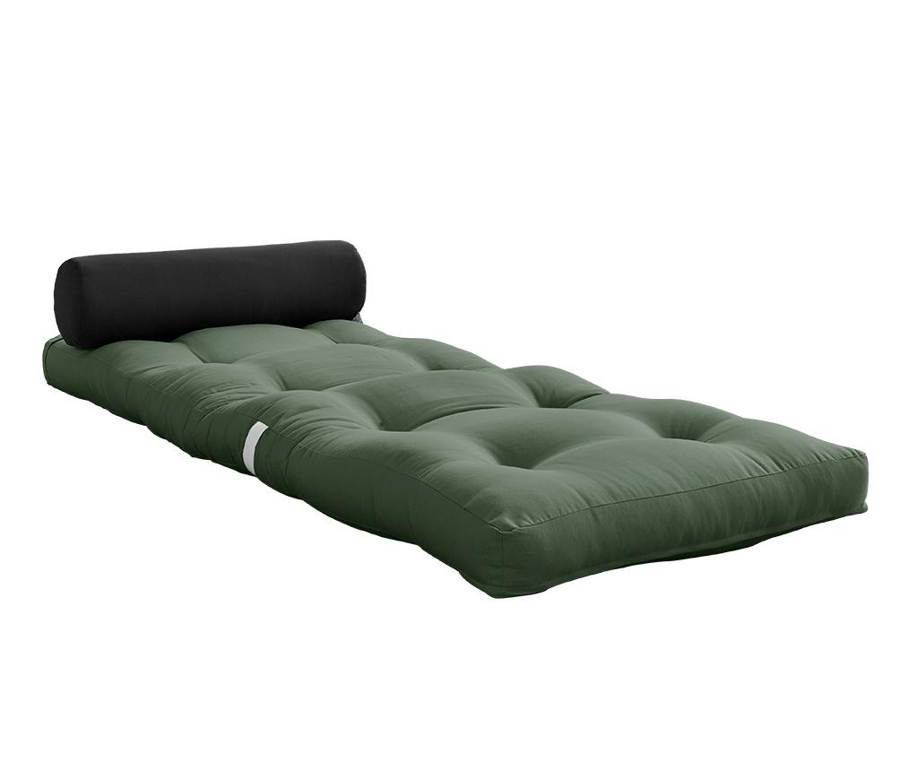 Wrap Olive Green Puff 70x200 cm