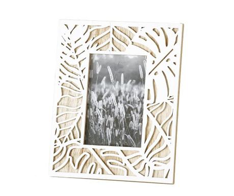 Leaf White Fényképtartó