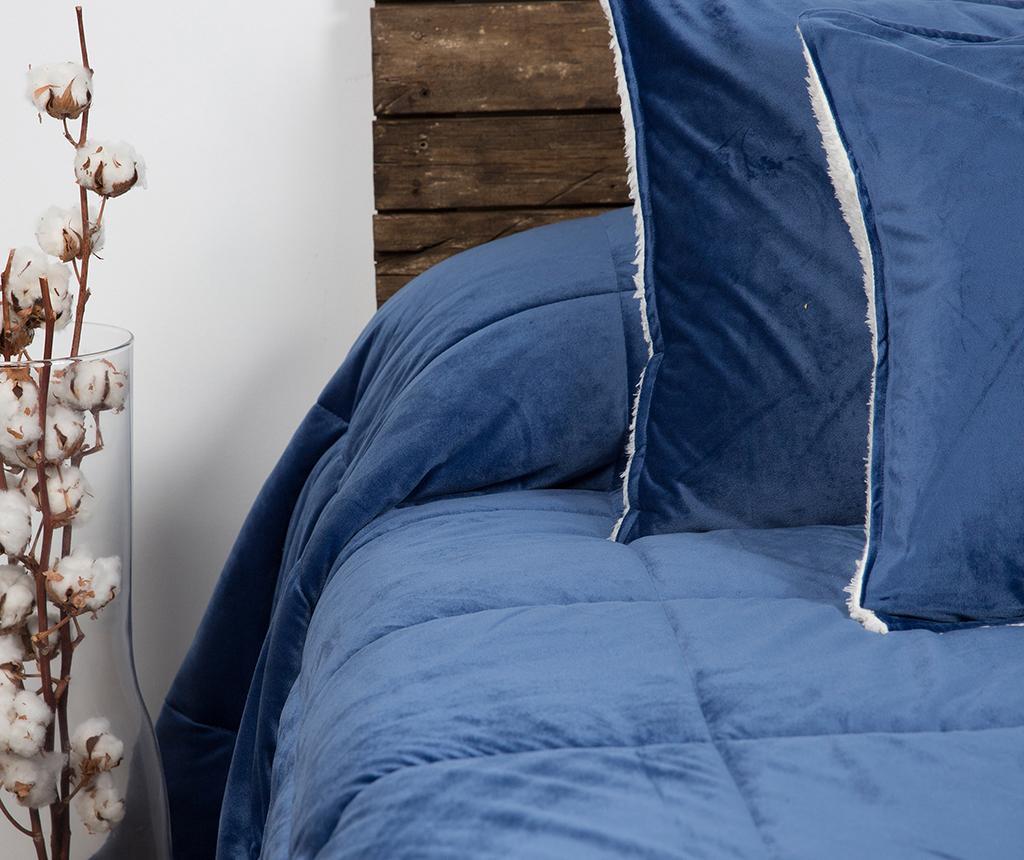 Set cuvertura King Extra Linosa Blue