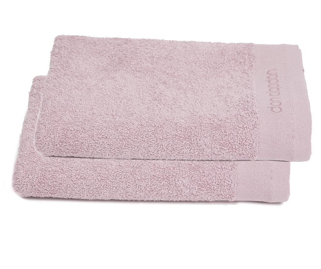 Set 2 prosoape de baie Tocador Pink 30x50 cm