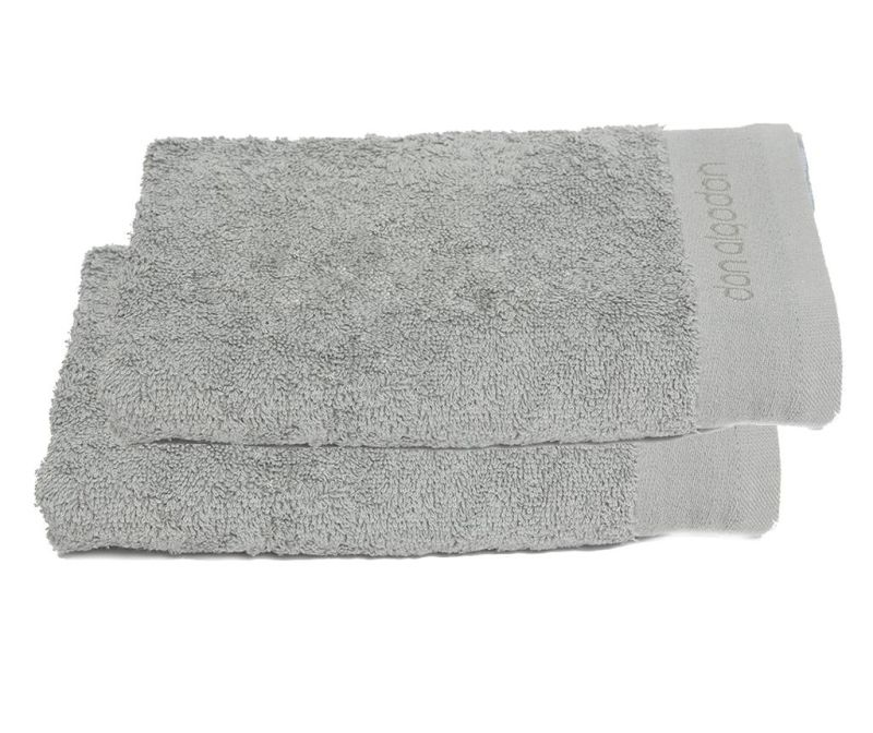 Set 2 prosoape de baie Tocador Grey 30x50 cm