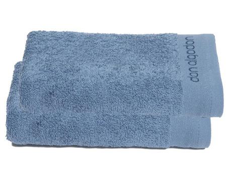 Set 2 kupaonska ručnika Lavabo Blue Marine 50x100 cm