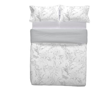 Zestaw na łóżko Double Corona Grey