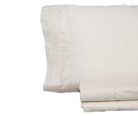 Set posteljina Double Extra Pique Vainica Beige
