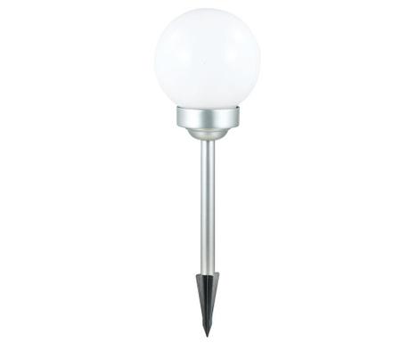 Lampa solarna Sphere White