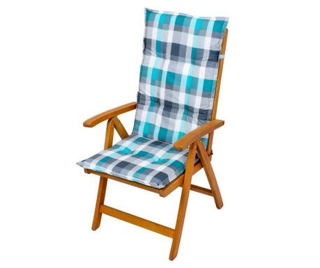 Poduszka na siedzisko i oparcie Bristol Blue Grey 49x119 cm
