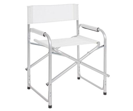 Składane krzesło ogrodowe Ocean White