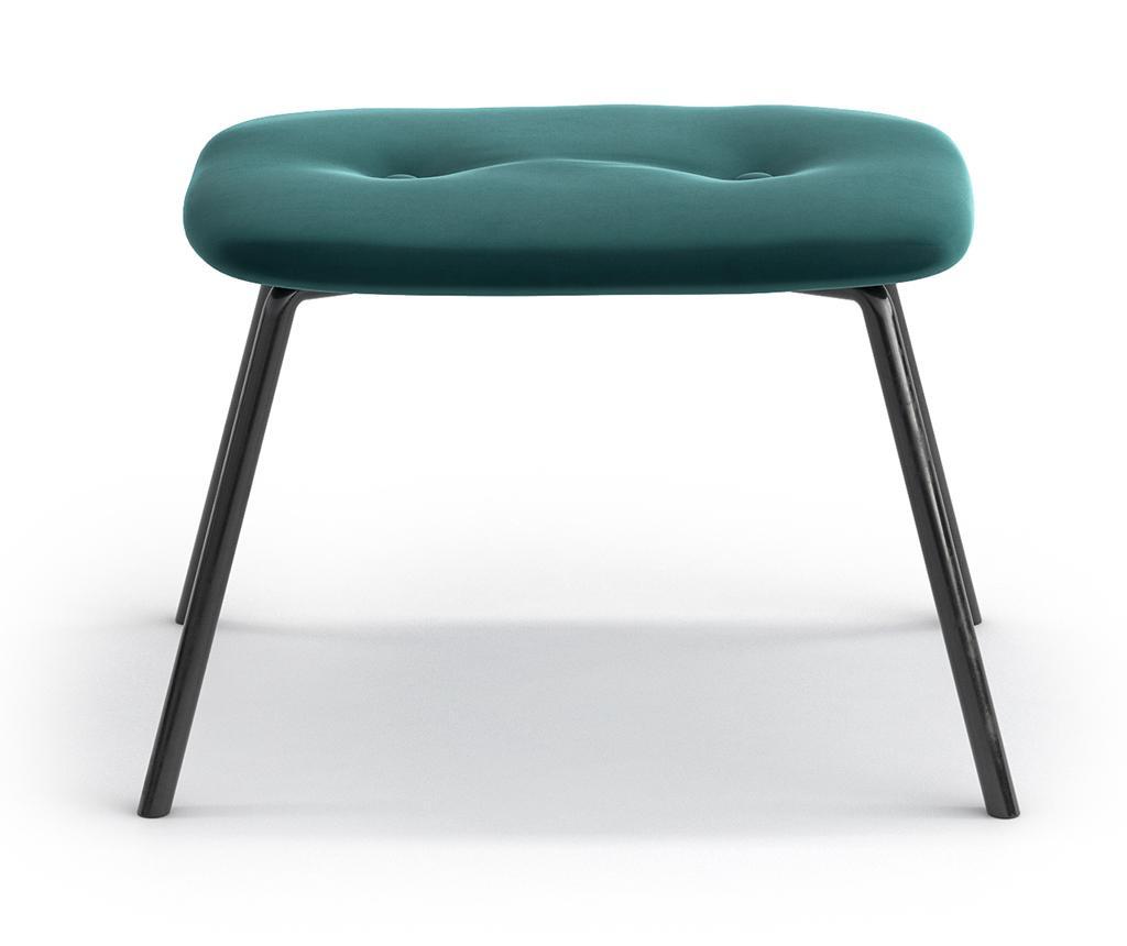 Taburet pentru picioare Tilda Riviera Metal Turquoise