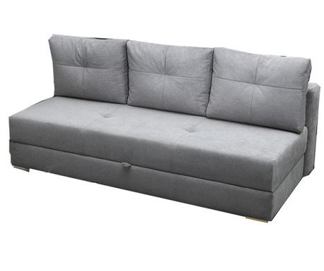 Dafne Grey Háromszemélyes kihúzható kanapé