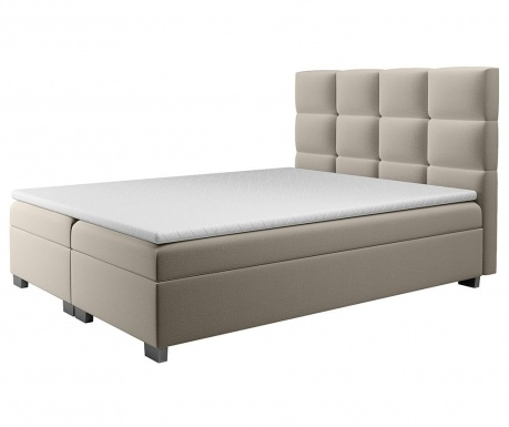 Set postelja in nadvložek Kanada Cappuccino 180x200 cm