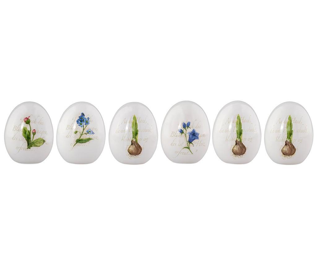 Set 6 decoratiuni Spring Decal