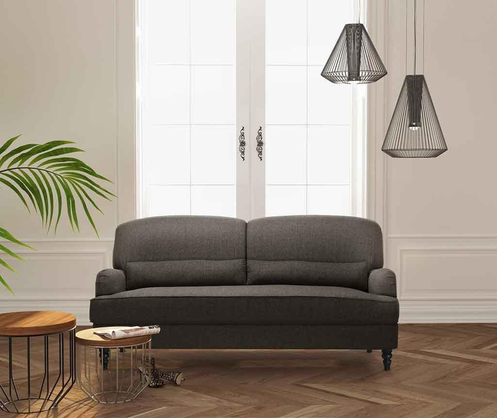 Bella Light Brown Háromszemélyes kanapé