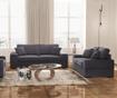 Dasha Anthracite Háromszemélyes kihúzható kanapé