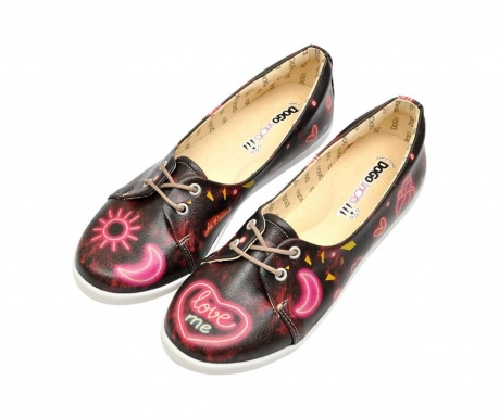 Dámske topánky Neon Hearts