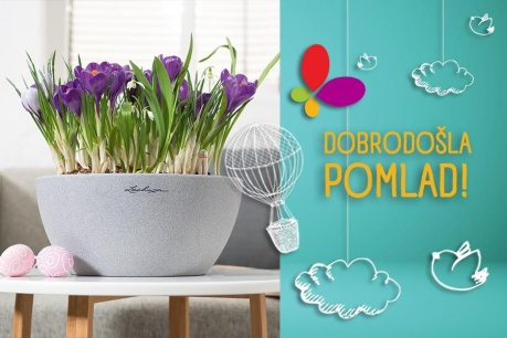 Dobrodošla pomlad: Vrt Lechuza