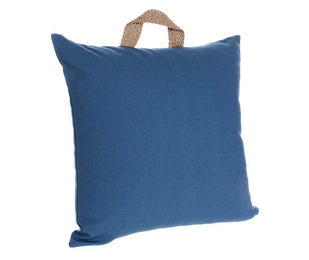 Perna decorativa Emotion Blue 45x45 cm