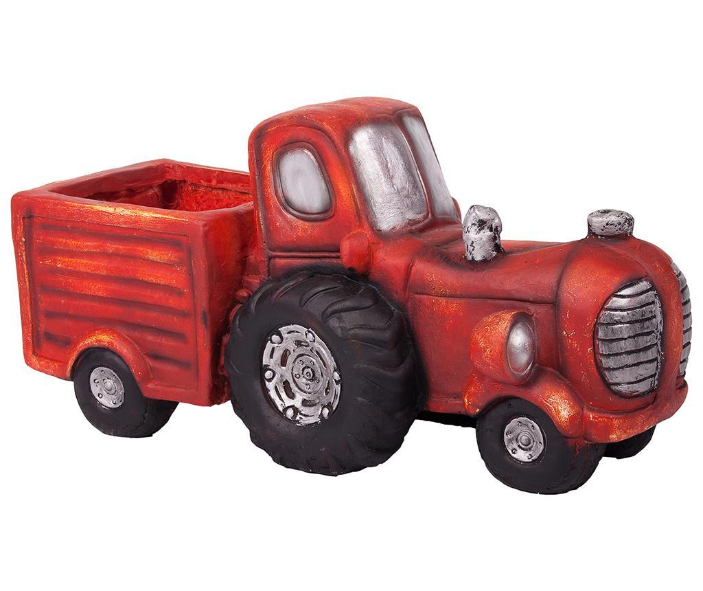 Stojan na květináč Vintage Tractor Cart