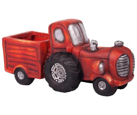 Stojalo za cvetlični lonec Vintage Tractor Cart