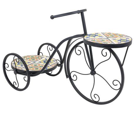 Поставка за саксии Mosaic Bicycle