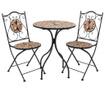 Sada venkovní stůl a 2 židle Mosaic Sunflower