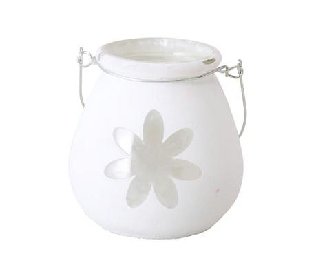 Suport pentru lumanare Flower White
