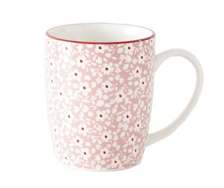 Skodelica Fleuri Pink 330 ml