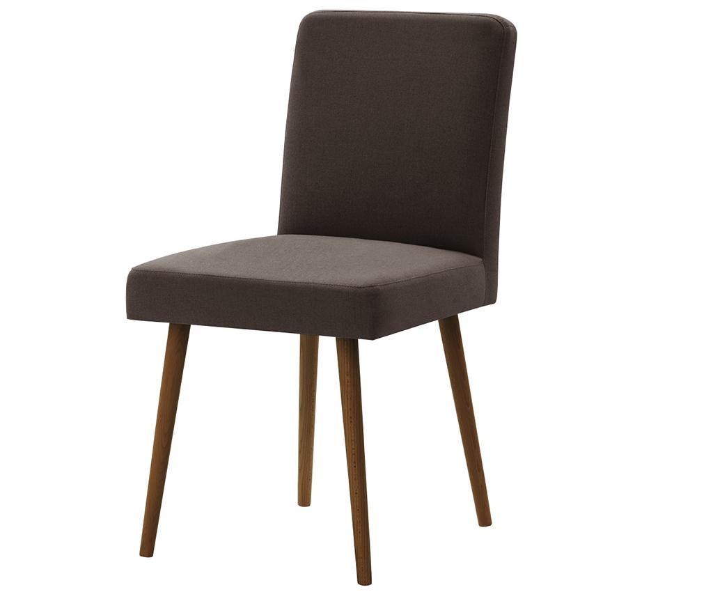 Комплект 4 стола Fragrance Brown & Dark Brown