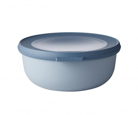 Κουτί αποθήκευσης με καπάκι Circula Nordic Blue 700 ml