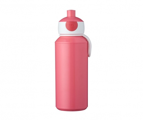 Αθλητικό μπουκάλι Pop-up Pink 400 ml