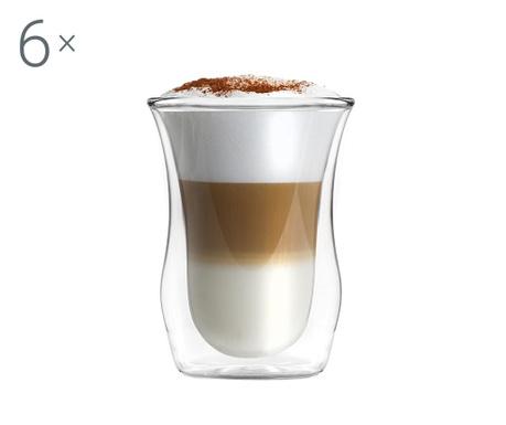 Σετ 6 ποτήρια Short Cappuccino 300 ml