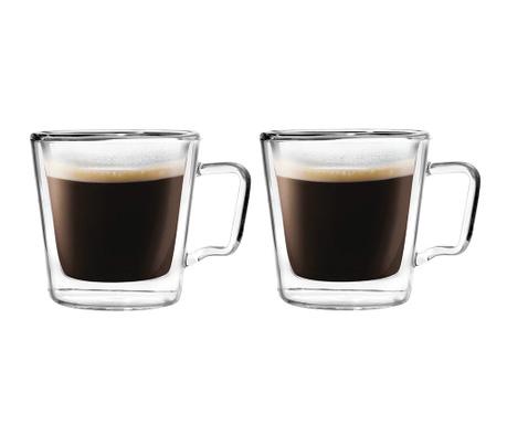 Σετ 2 φλιτζάνια Espresso 80 ml