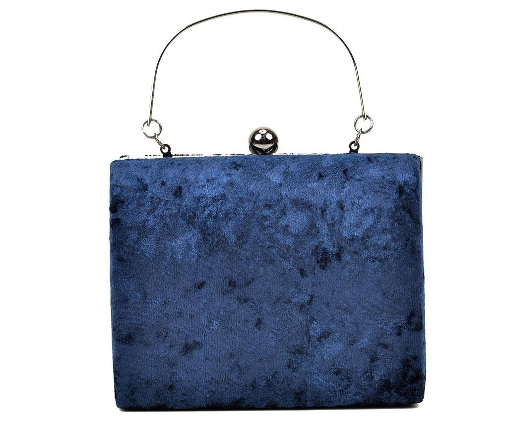 Geanta clutch Jessie Blue