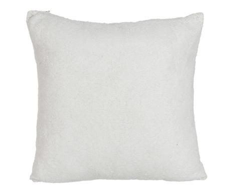 Poduszka dekoracyjna Sequin White 40x40 cm