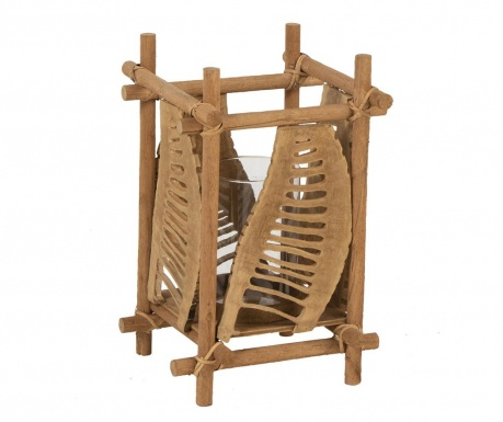 Świecznik Bamboo Shield