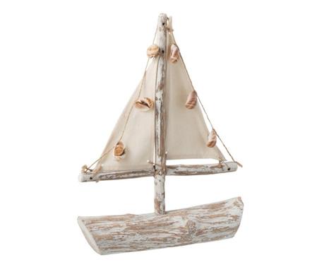 Dekoracja Shells Sailing Boat