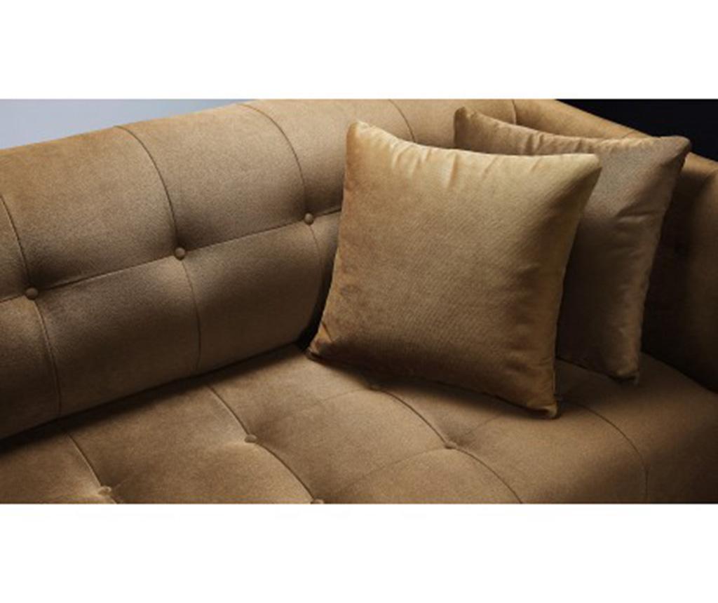 Paris Yellow Háromszemélyes kanapé