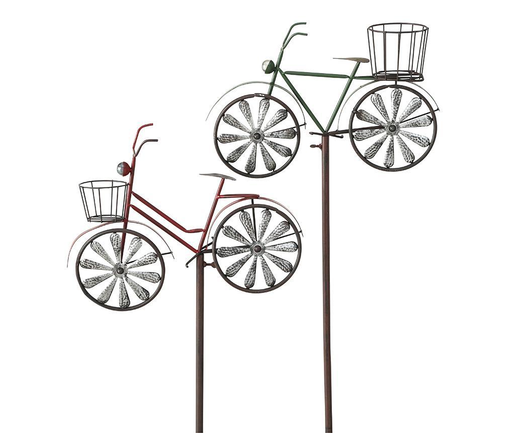 Zahradní dekorace Bike Red