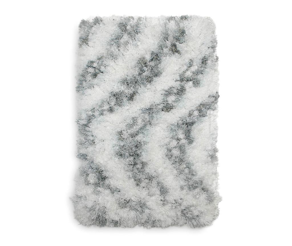 Selah Light Grey Fürdőszobai szőnyeg 70x120 cm