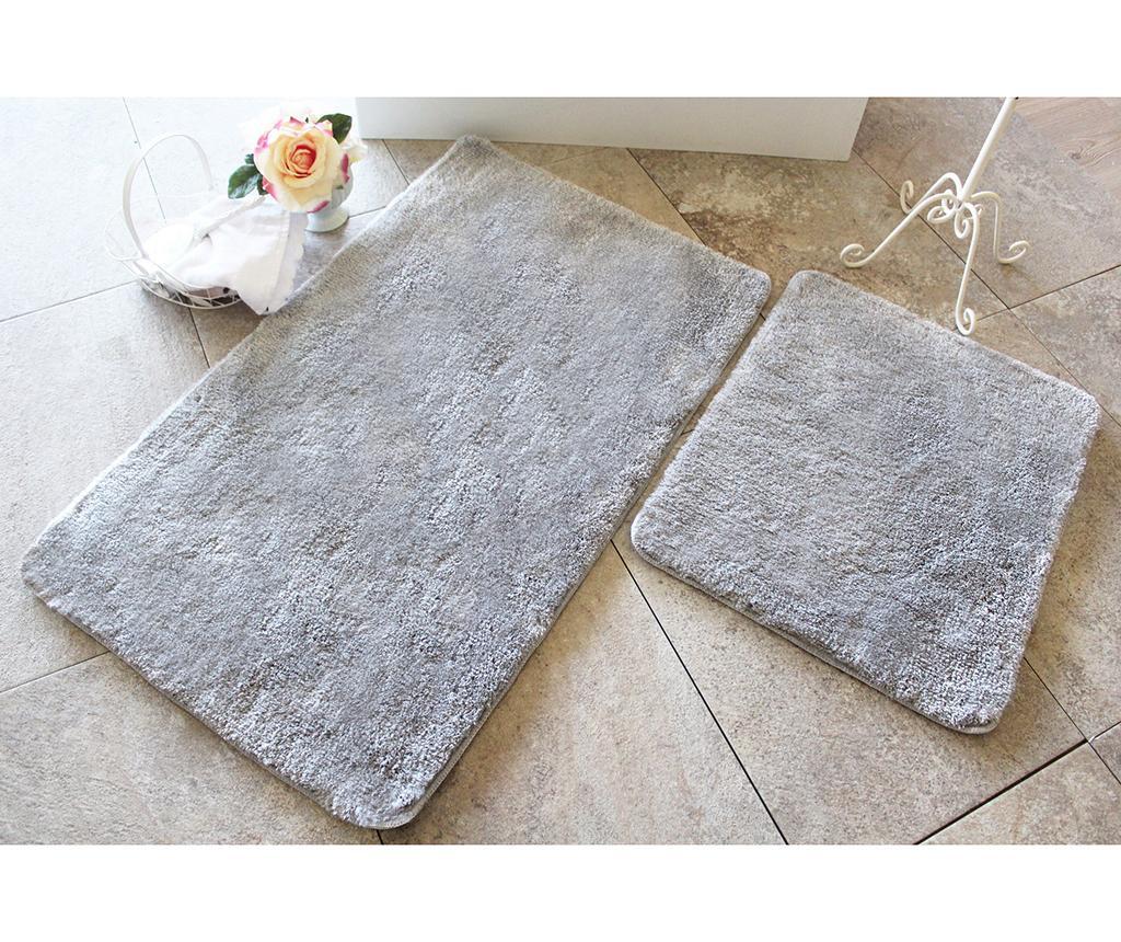 Manilla Grey 2 db Fürdőszobai szőnyeg