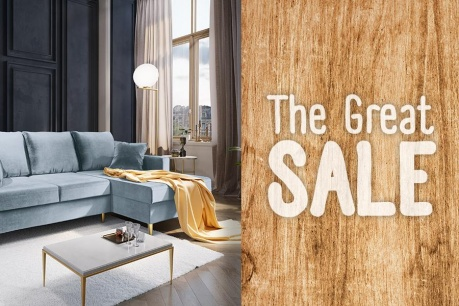 The Great Sale: Mobilier si canapele