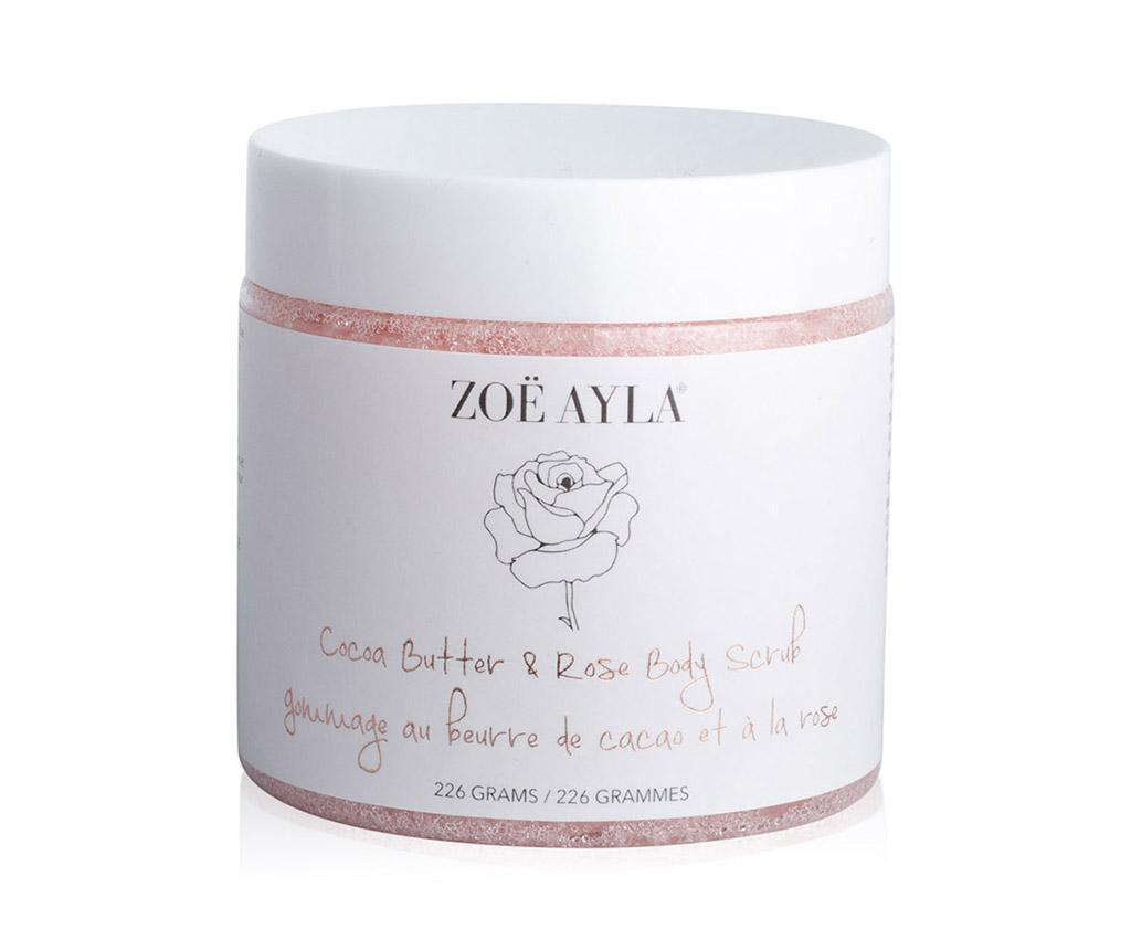 Gel exfoliant pentru corp Cocoa Butter & Rose Body