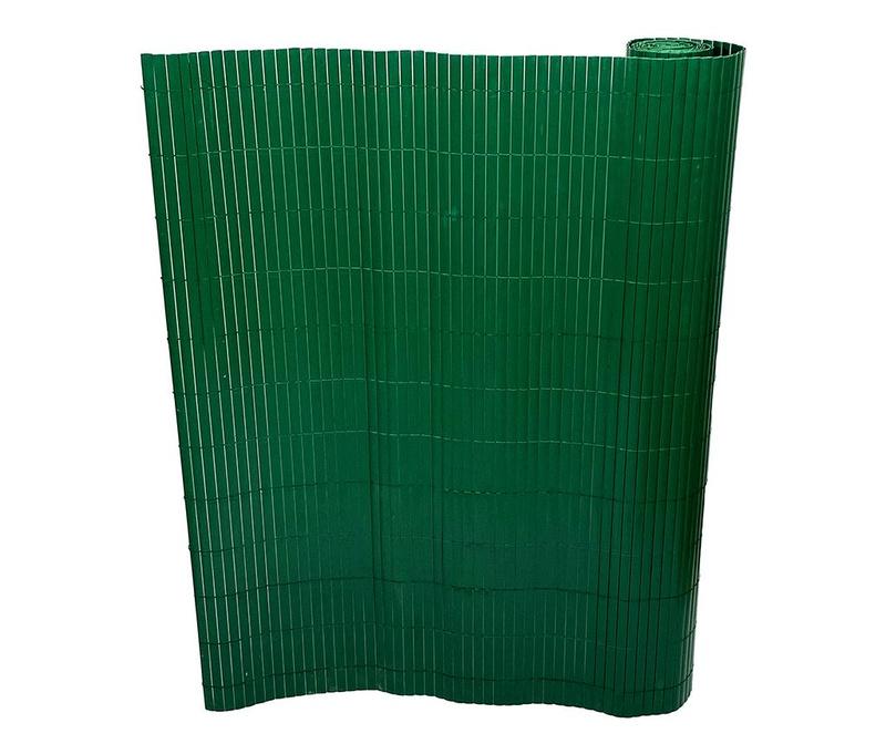 Bamboo Fold Green Dekorációs kerítés 120x300 cm