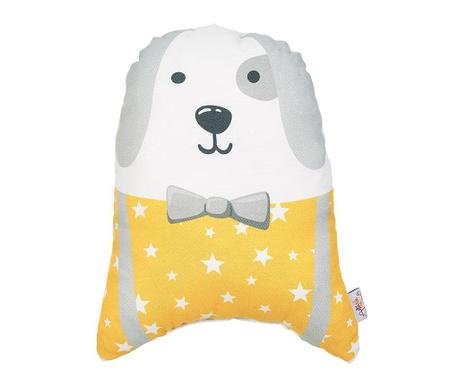 Perna decorativa Fancy Dog Yellow 25x30 cm