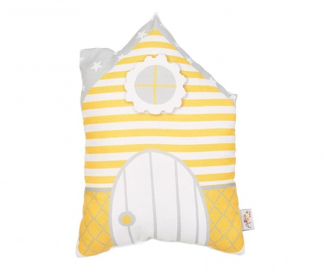 Perna decorativa Sweet Home Yellow 25x33 cm