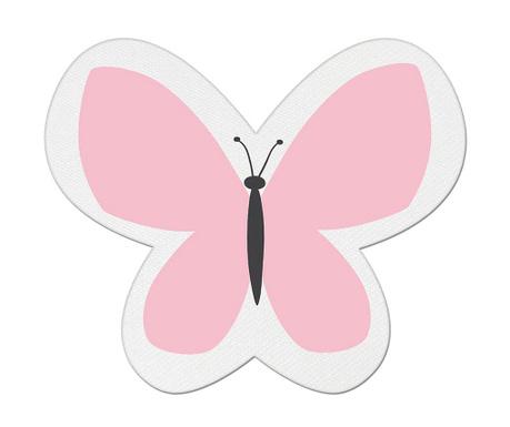 Perna decorativa Butterfly Dream Pink 26x30 cm